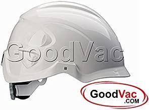 Centurion Nexus ABS Helmet S16 Hardhat EN397 Vented Lightweight Safety Helmet (Clear Eye Shield, White)