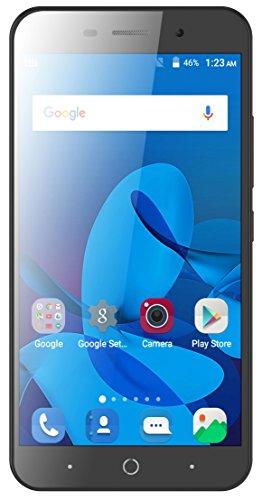ZTE Blade A602 Smartphone (13,97 cm (5,5 Zoll) Bildschirm, 8 GB Speicher, Dual-SIM, Android 7.0) Silber