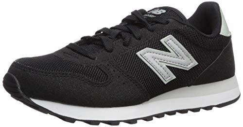 new balance Women's 311v1 Sneaker, BLACK/MINT CREAM, 7 M US
