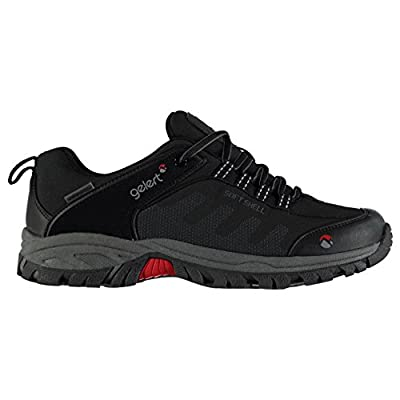 Gelert Mens Softshell Walking Shoes Waterproof Lace Up