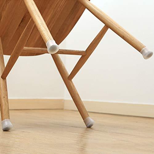 fansheng Fundas para Patas de sillas Fundas para Patas Antideslizantes para Muebles Protectores de Piso de Silicona Redondos