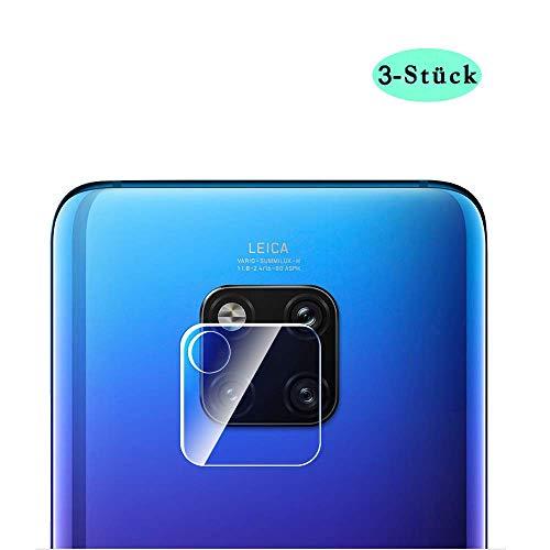 Semriver Kamera Panzerglas Schutzfolie Kompatibel mit Huawei Mate 20 Pro/XKamera Schutzglas Ultra-klar Kameraschutzfolie 9H FestigkeitKamera objektiv BildschirmschutzfolieLinse Folie[3 Stück]