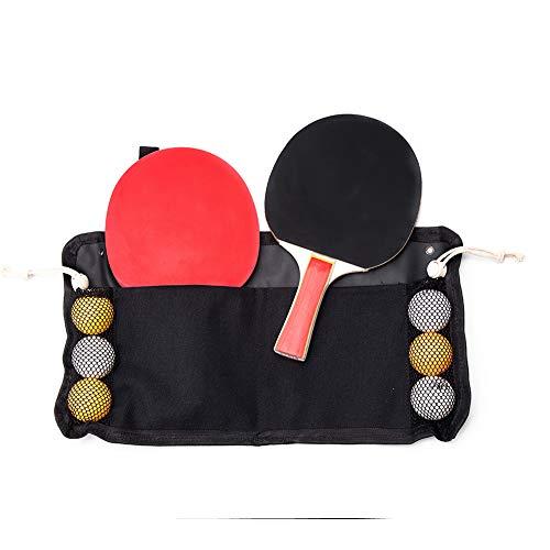 TUYU Borse per attrezzatura da Ping pong,Set da ping pong, in tessuto Oxford, per sport all'aria aperta,adatto per giochi all'aperto indoor