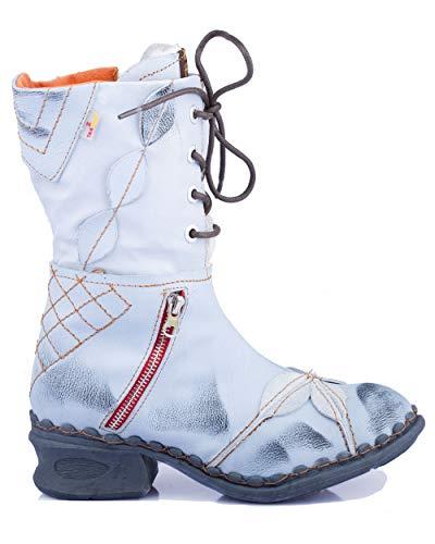 TMA 5707 Damen Stiefel weiß - EUR 42