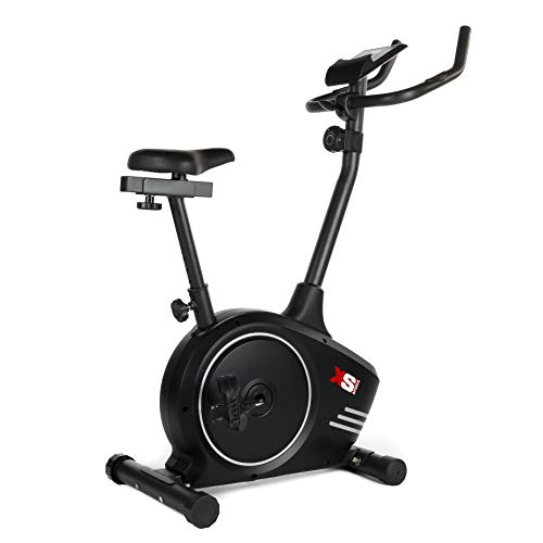 XS Sports B510 Magnetic Exercise Bike - Indoor Fitness Equipment - Stationary Upright Gym...