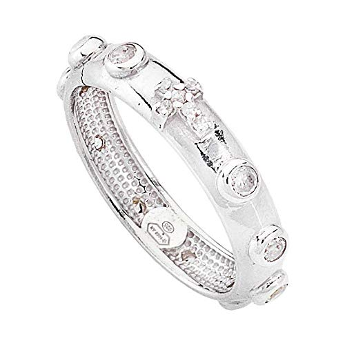 anello donna gioielli Amen misura 18 classico cod. AROBB-18