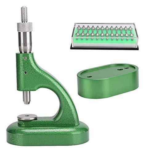 Uhrenreparatur-Maschine, Diamant-Strasssteine, Reparatur-Set für Uhrmacher, Grün