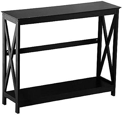 Amazon.com: WE Furniture AZS60XMWGWW Estantería, Madera ...