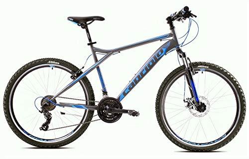 breluxx® 26 Zoll Mountainbike Hardtail FS Disk Cobra 2.0 Sport blau, 21 Gang Shimano, FS + Scheibenbremsen - Modell 2020