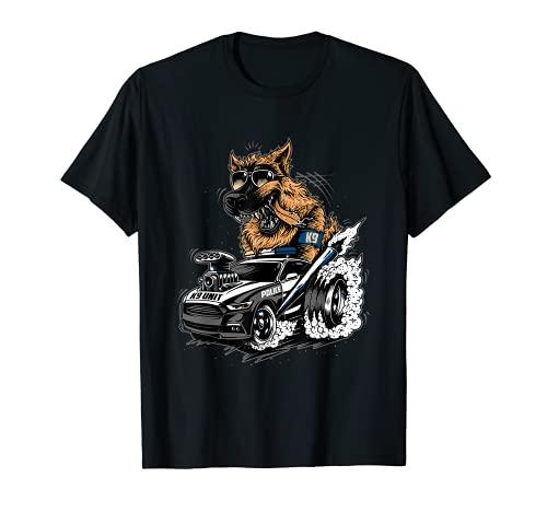 German Shepherd Police K9 Unit T-Shirt