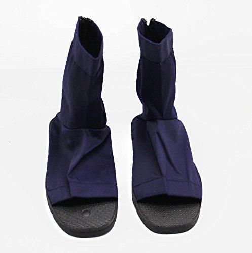 CoolChange Naruto Ninja Schuhe Cosplay Kakashi Sasuke Sakura, Blau, Größe: 38 / 39