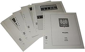 Lindner-T Vordruckblätter T218/69 Polen ab 25 Jahre Volksrepublik- Jahrgang 1969 bis 1971
