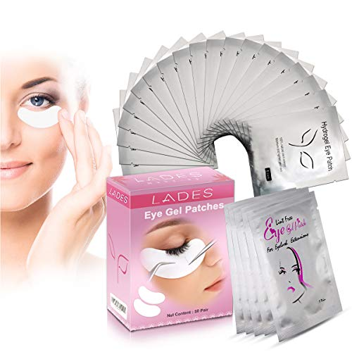 Eye Gel Pads  50 Pairs of Eyelash Lash Extension Under Eye Gel Pads Eye Patches