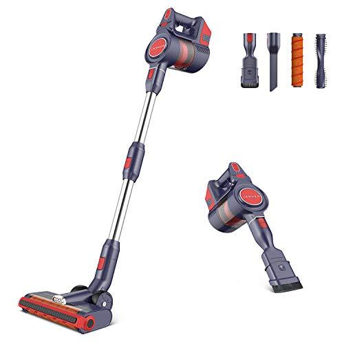 JASHEN Cordless Vacuum Cleaner, Powerful Suction Vacuum Cleaner,2 In 1...