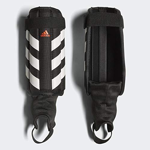 adidas Evertomic Shin Guards, Black/White/Solar red, L