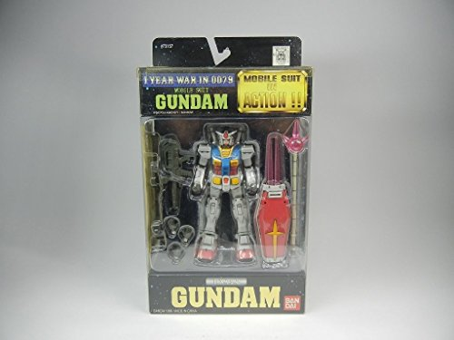 Gundam MSIA RX-78-2 1 Year war in 0079 Action Figure by Bandai