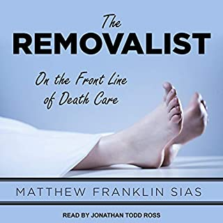 The Removalist audiobook cover art