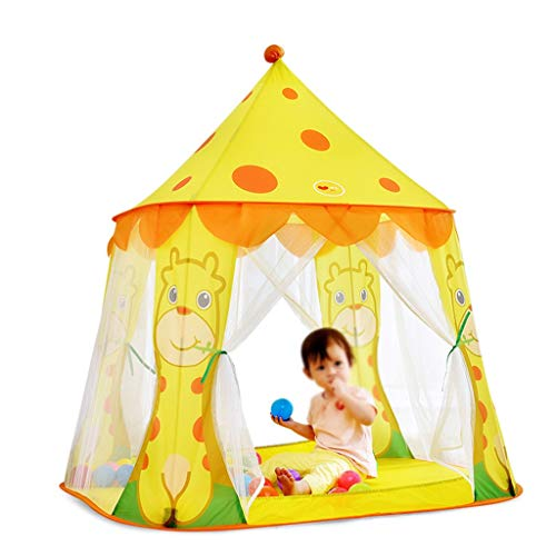 CSQ Children's Toy Tents,Mongolian Yurt Tents - Children Gifts - Baby Ball Pool Household Tents Outdoor Playground Tent Children's play house (Size : 105 * 95 * 120CM)