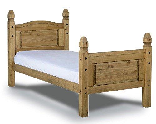 Mercers Furniture Corona 3'0 Single Solid Pine Bed Frame