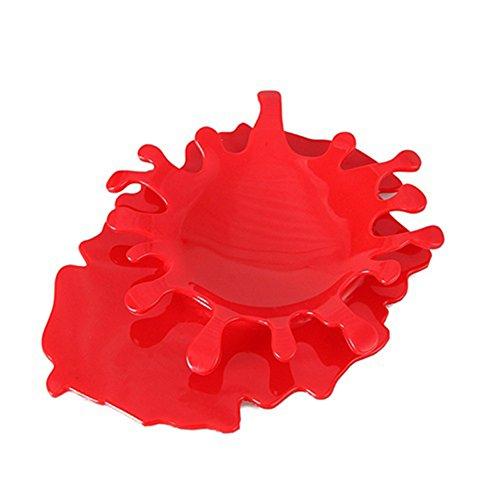 Creativo Color sólido Splash Drop Sopa Cucharón Soporte de Accesorios de Cocina...