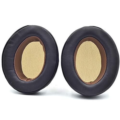 Replacement Brown Ear Pads Ear Cushion Compatible with Sennheiser HD1 Momentum 1 Momentum 2.0 (M2) Wireless Over Ear Headphones