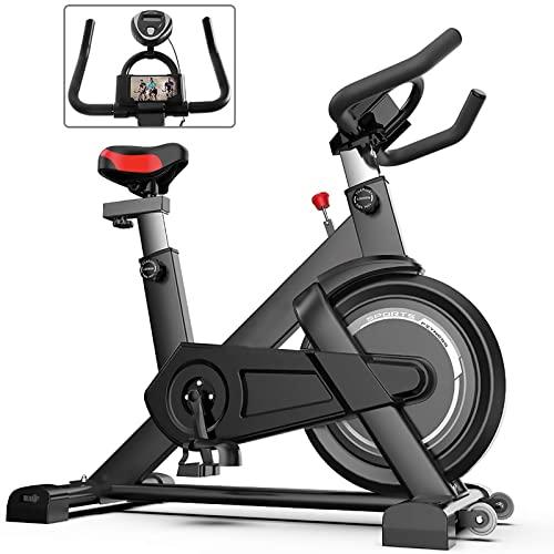 Una Bicicletta per Esercizi al Coperto con Un Monitor, Sedile e Maniglie Regolabili, Adatto per Esercizio aerobico a casa