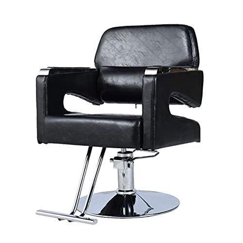 Sillón de peluquero reclinable hidráulico para todo uso, sillón de peluquero reclinable hidráulico, sillón de peluquería, sillón de salón, elevador de sillón de salón de belleza giratorio, equipo de