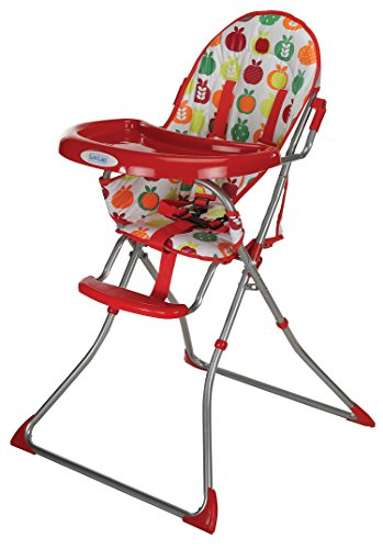 LuvLap Sunshine Baby Highchair - Red