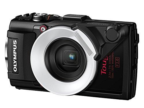 Olympus TG-4 - Cámara de Fotos subacuática de 16 MP (Pantalla de 3', Zoom óptico 4X,...