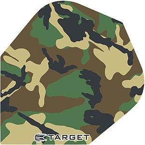 TARGET Pro 100 Flights Camo Camouflage, 3 Stück