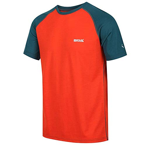 Regatta Mens Tornell Super Soft Merino Wool Active T Shirt