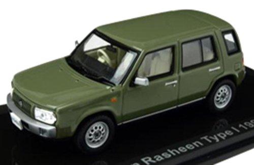 LUMYNO 1/43 Nissan Rasheen Type I Cider Green 1997 完成品