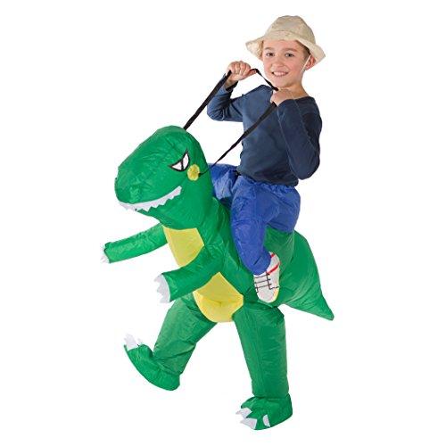 Bodysocks Kids Inflatable Dinosaur Fancy Dress Costume