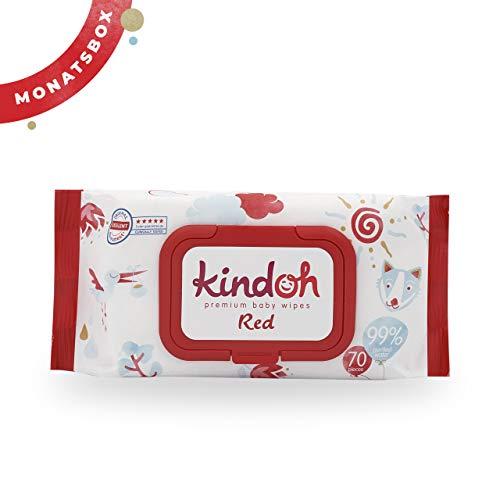 Kindoh BabyCare RED Feuchttücher - MONATSBOX (Regular)