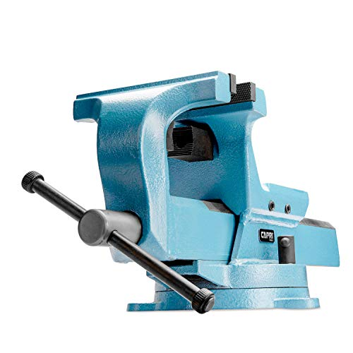 Capri Tools 10516 Ultimate Grip Forged Steel Bench Vise, 6'