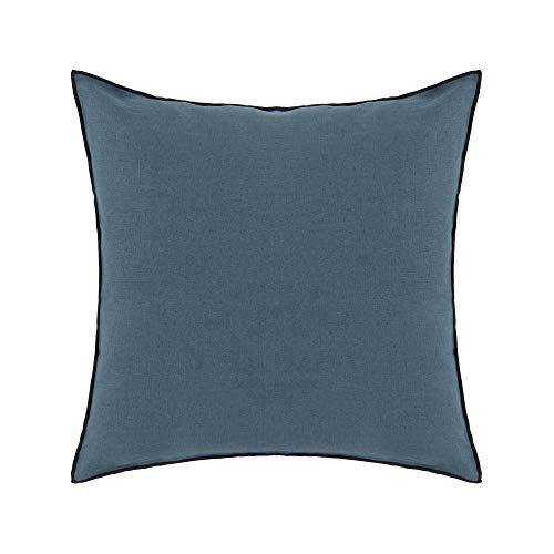 MADURA Carlina - Funda de Almohada (65 x 65 cm), Color Azul y Rojo