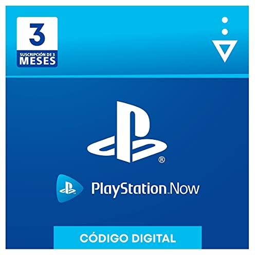 Sony, PlayStation Now - Suscripción 3 Meses | PS5/PS4/PS3 | Código de descarga PSN - Cuenta española