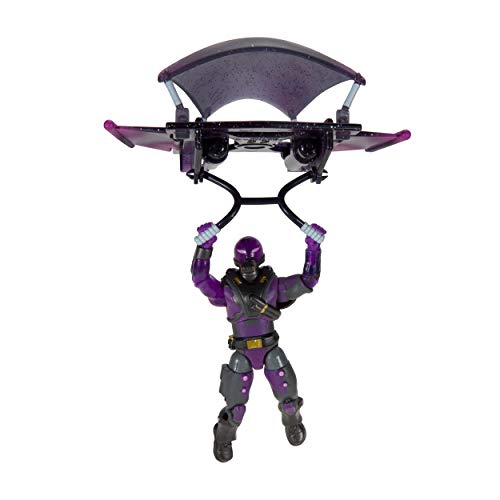 """Fortnite Solo Mode Figure and Glider Bundle, Tempest & Discovery - Features 4"""" Action Figure with 25+ Points of Articulation, 1 Storm Bolt Harvesting Tool, 1 Glider - Collect Them All"""