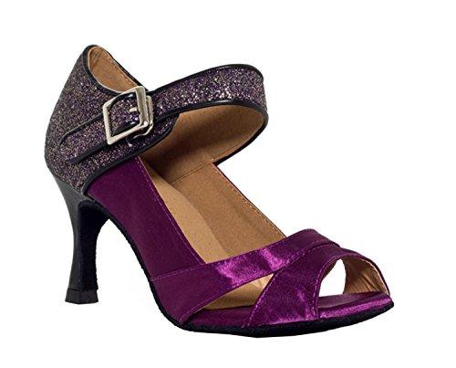 Miyoopark Sandalias de boda latinas de los zapatos de baile de las...
