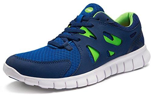 TSLA Men's Boost Running Walking Sneakers Performance Shoes, Flex Mesh(x700) -...