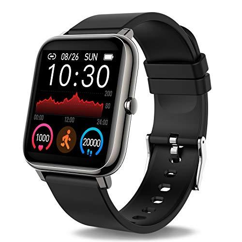 potente para casa Smartwatch, smartwatch con pulsómetro, cronómetro, calorías, monitor de sueño, podómetro …