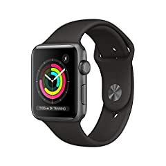 GPS Retina display Swimproof Optical heart sensor Stores music, podcasts, and audiobooks Elevation Emergency SOS S3 chip with dual-core processor watchOS with Activity trends, cycle tracking, hearing health innovations, and the App Store on your wris...