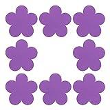 Artibetter 8 Piezas Autoadhesivas de Espuma con Formas de Flores Pegatinas de Recompensa Pegatinas de Halago Adornos Artesanales Adhesivos para DIY Jardín de Infantes Proyecto de Arte