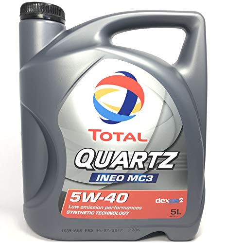 Total Quartz Ineo MC35W40Aceite de Motor, 5L