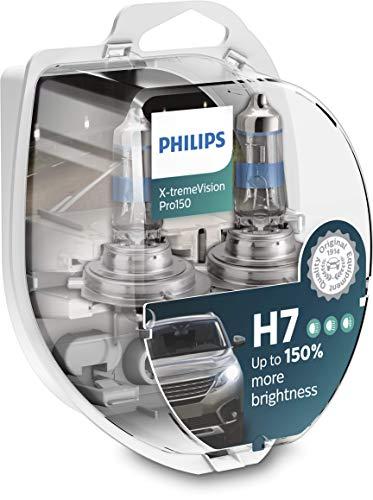 Philips X-tremeVision Pro150 H7 bombilla faros delanteros +1