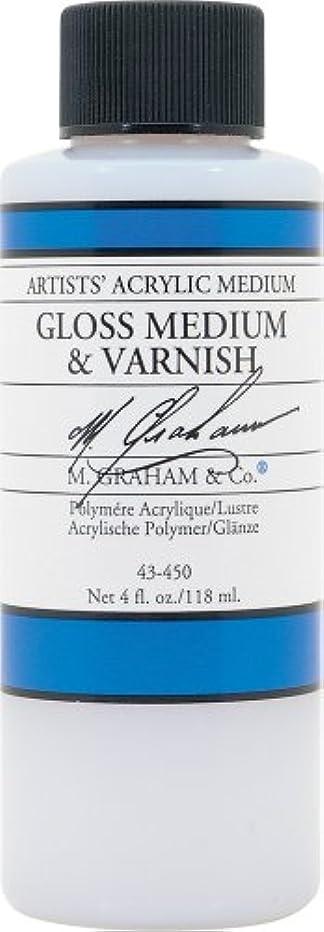 M. Graham 4-Ounce Acrylic Medium, Gloss