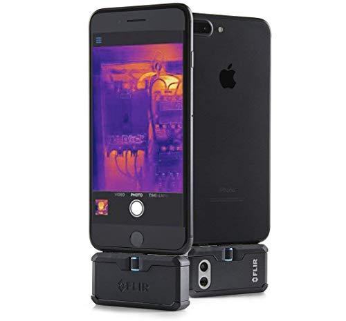 FLIR ONE PRO LT Módulo con cámara de escaneo térmico para dispositivos iOS con conector Lightning, mide temperaturas de hasta 120 °C (248 °F)