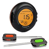 Digital Wireless Meat Thermometer - Perfect for BBQ, Grilling, Cooking, Oven, Comes with 6 Wired Probes, Timer, Alarm, Bluetooth, Magnets - Perfect Gift