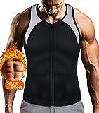 Mens Sauna Waist Trainer Corset Vest with...