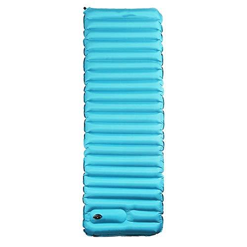 LLLKKK Mumienschlafsäcke,Schlafmatte Airbag Typ ultraleichte aufblasbare Kissen Outdoor-Zelt Schlafmatte Isomatte Single verbreiterte Dicke Auflage Schlafsack (Size : B)